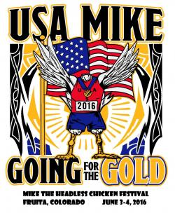 USA Mike Going for the Gold